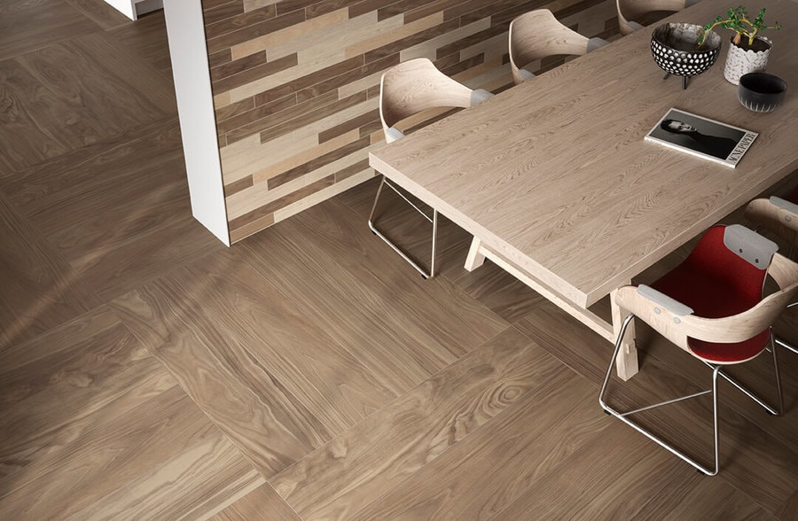 pavimento effetto legno