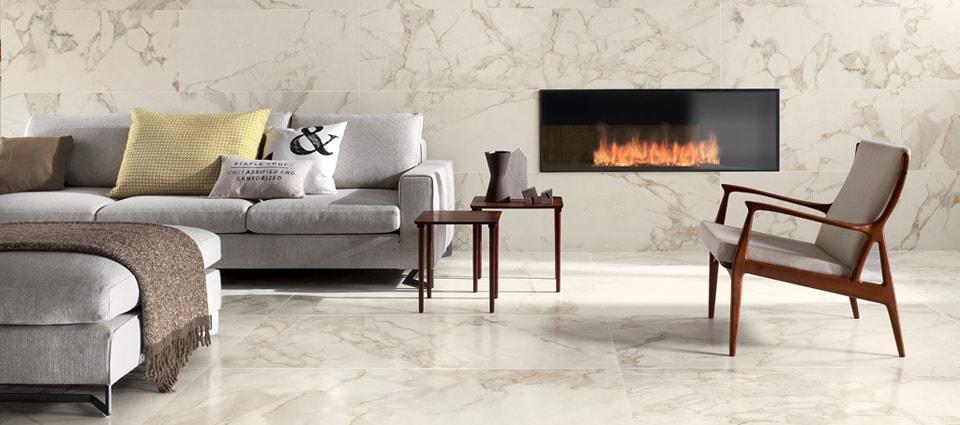 pavimento effetto marmo